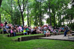 Campfire programs at St. Croix Bluffs Regional Par...