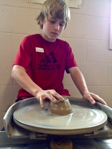Teen Pottery on the Wheel: Ages 13+