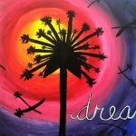 Painting at the Water Street Inn - Dandelion Dream...