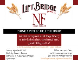 Drink a Pint to Help the Fight!