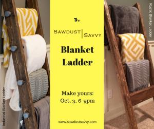 Blanket Ladder Workshop