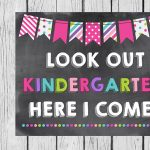 Kindergarten, Here We Come!
