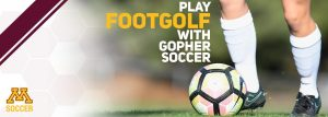 Play Foot Golf with Gopher Soccer