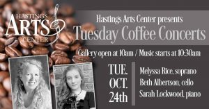 Tuesday Morning Coffee Concert Featuring Melyssa Rice, Beth Albertson and Sarah Lockwood