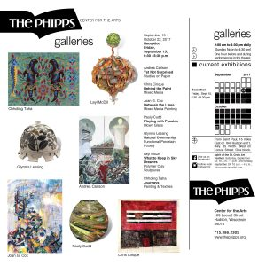 The Phipps Galleries: September 15 - October 22