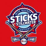 Sticks in Stillwater Mite Hockey Festival