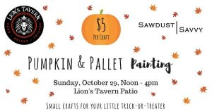Kids Pumpkin & Pallet Painting Event