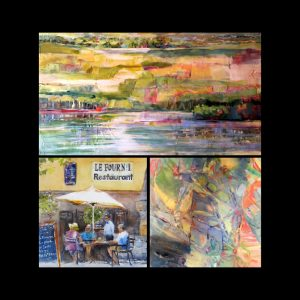 """""""Shimmering Colors"""" Exhibition of Paintings"""