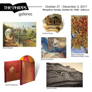 The Galleries at The Phipps, October 27-December 3