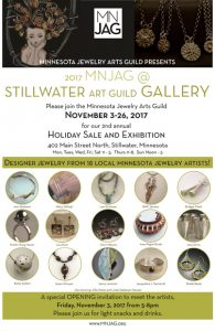 Minnesota Jewelry Artists Guild Holiday Show