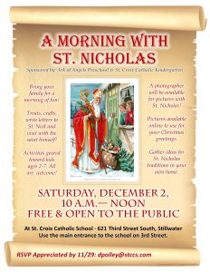 A Morning with St. Nicholas