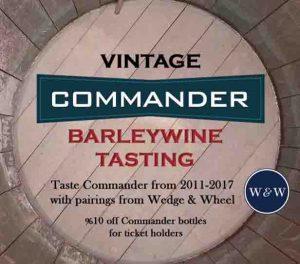 Vintage Commander Barleywine Tasting