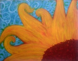 Paint Sip Nosh: Sunflower Painting at the Freight House