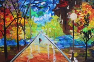Paint Sip Nosh: Painting a Fall Scene at Mallards on the St. Croix
