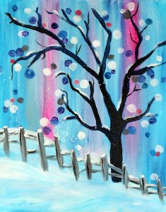Paint Sip Nosh: A Winter Wonderland at the Water S...