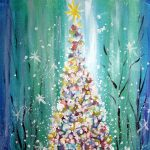 Paint Sip Nosh: Oh Christmas Tree at the Freight House