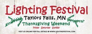 Taylors Falls Lighting Festival