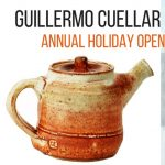 Guillermo Cuellar Pottery Holiday Open Studio Sale