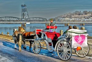Paint the Town Red Events including Valentine's Carriage Rides