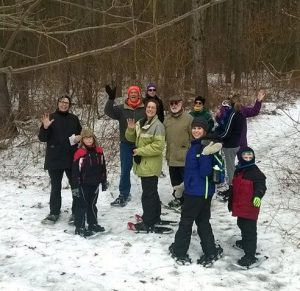 Learn to Snowshoe - Homestead Parklands on Perch L...
