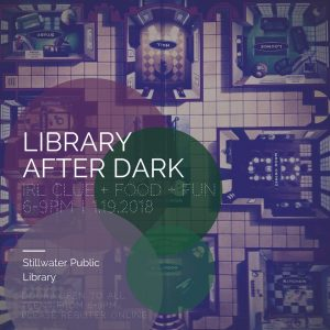 Library After Dark for TEENS - CLUE Party