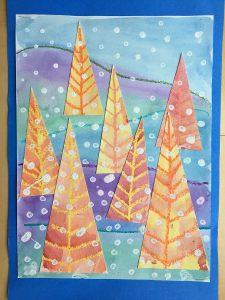 Winter Tree Landscapes