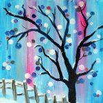 Paint Sip Nosh - Winter Wonderland