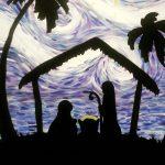 Paint Sip Nosh - Nativity Scene