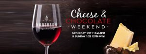 Wine, Cheese, and Chocolate Weekend