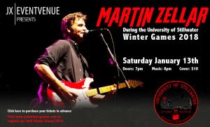 Martin Zellar at JX Event Venue