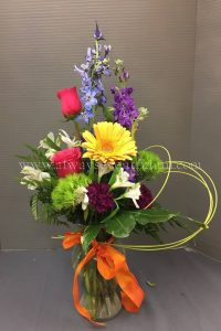 Spring Blooms Wine & Design Floral Arranging C...