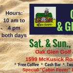 Cabin Fever Craft & Gift Show at the Oak Glen Golf and Event Center