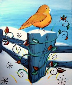 """Paint Sip Nosh and find your """"Happy Place"""" at the Water Street Inn"""