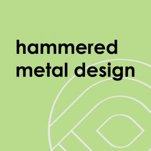 Hammered Metal Design