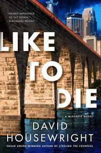Author Visit: Like to Die by David Housewright