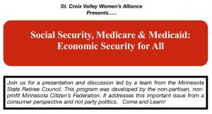 Social Security, Medicare, & Medicaid: Economic Security For All