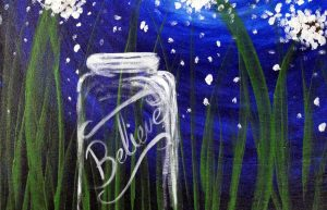 "Paint with friends on the St. Croix - ""Believe"""