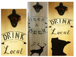 Paint Bottle Opener Signs for Father's Day
