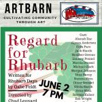 Regard for Rhubarb