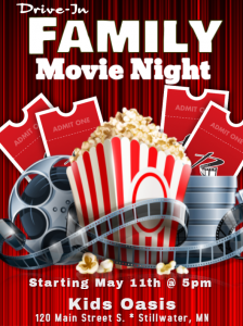 Drive-In Movie Night! At Kids Oasis