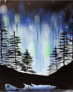 Paint on the St. Croix - Northern Lights Summertime