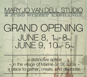Mary Jo Van Dell Studio and Judd Street Exchange Grand Opening
