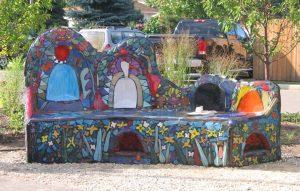 Art Bench Freedom Park
