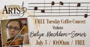 FREE Coffee Concert- Batya MacAdam-Somer, Violin