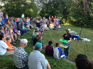Campfire Program at St. Croix Bluffs