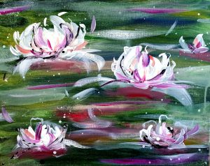"Paint on the St. Croix - ""Waterlilies"""