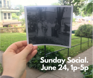 Sunday Social at the Warden's House