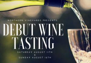 Debut Wine Tasting