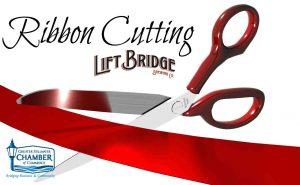 Lift Bridge Brewery 10 Year Ribbon Cutting