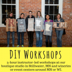 Holiday Wood Sign Workshop with Sawdust Savvy